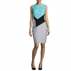 Prabal Gurung Colorblock Sheath Dress
